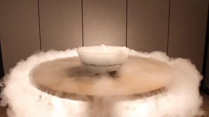 Как сделать сухой лед в домашних условиях