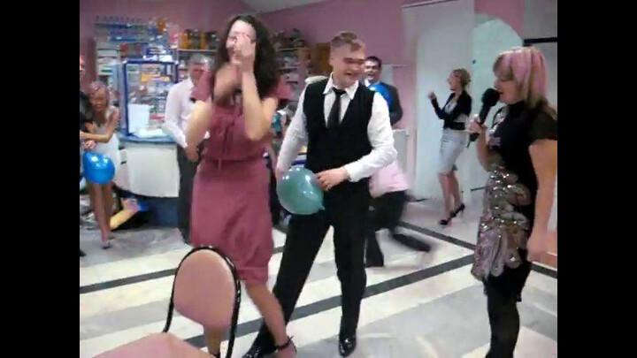 Конкурс на свадьбе я до слез видео